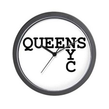 QUEENS NYC Wall Clock