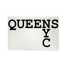 QUEENS NYC Rectangle Magnet