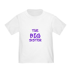 The Big Sister Toddler Tee