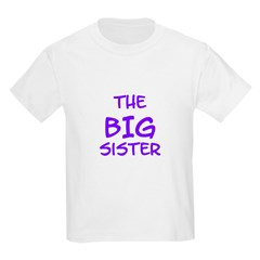 The Big Sister Kids Tee