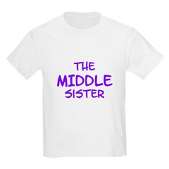 The Middle Sister Kids Tee