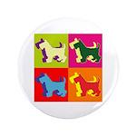 Scottish Terrier Silhouette Pop Art 3.5