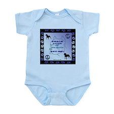 Peace Love Pit BULLs Infant Bodysuit