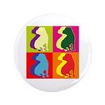 Shar Pei Silhouette Pop Art 3.5
