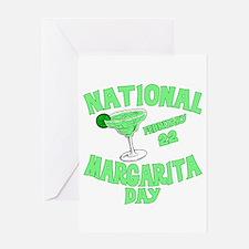 National Margarita Day Greeting Card