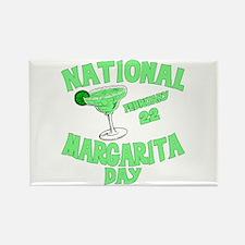 National Margarita Day Rectangle Magnet