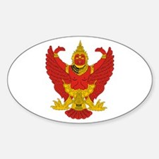 Thailand Emblem Oval Decal
