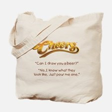Cheers Norm Beer Quote Tote Bag