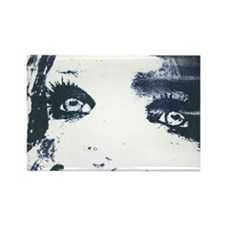 Inky Ink Eyes Rectangle Magnet