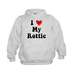I Heart My Rottie Hoodie