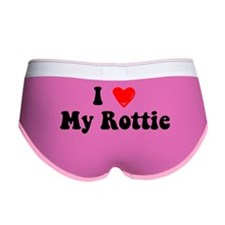 I Heart My Rottie Women's Boy Brief