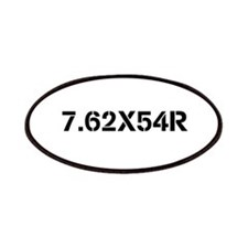 Firearms Oval Stickers Patches