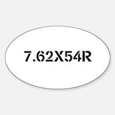 Firearms Oval Stickers Sticker (Oval)