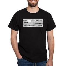 Geordie Words T-Shirt
