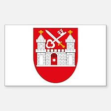 Tartu Coat of Arms Rectangle Decal