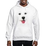 Bichon face Hooded Sweatshirt