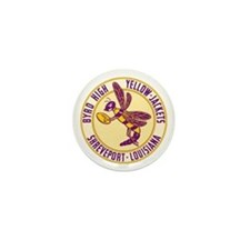 Byrd High Yellow Jackets Mini Button
