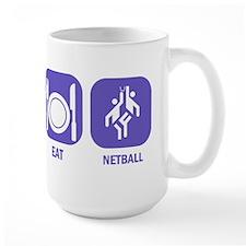 Sleep Eat Netball Ceramic Mugs