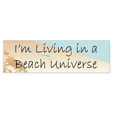 Beach Universe Bumper Bumper Sticker