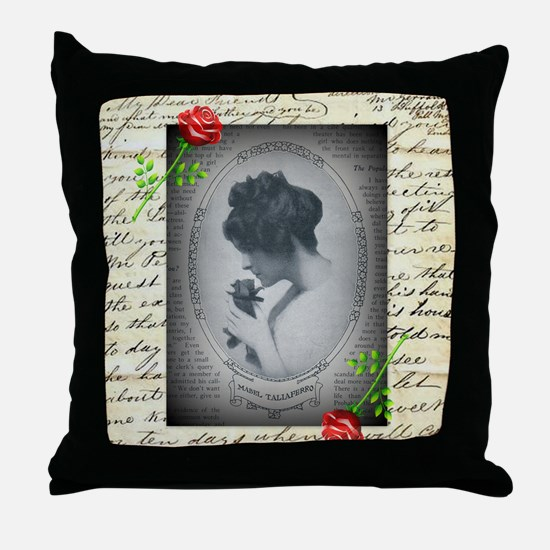 Mabel Taliaferro Throw Pillow