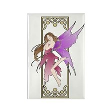 Fairy ~ Pink Rectangle Magnet