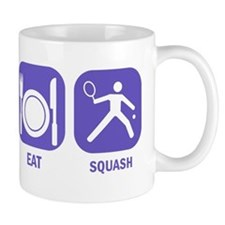 Sleep Eat Squash Mug