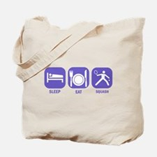 Sleep Eat Squash Tote Bag