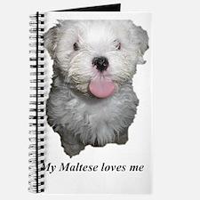 My Maltese loves me Journal