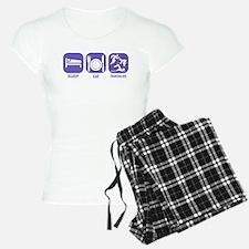 Sleep Eat Traithlon Pajamas