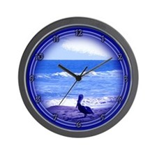Funny Shorebird Wall Clock