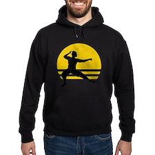Crouching Ninja Hoodie