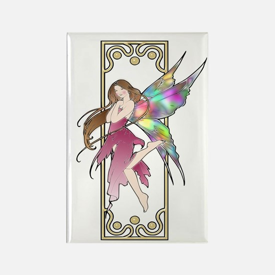 Fairy ~ Colorful Rectangle Magnet