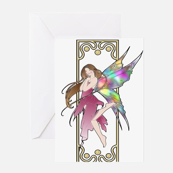 Fairy ~ Colorful Greeting Card