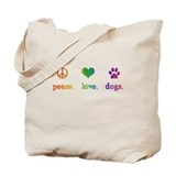 Dogs Canvas Totes