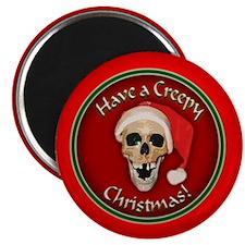 """Cute Skull christmas 2.25"""" Magnet (10 pack)"""