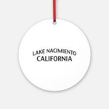 Lake Nacimiento California Ornament (Round)