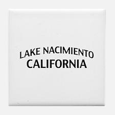 Lake Nacimiento California Tile Coaster