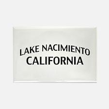 Lake Nacimiento California Rectangle Magnet