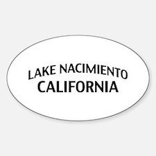 Lake Nacimiento California Decal