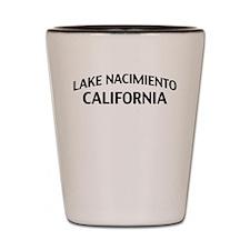 Lake Nacimiento California Shot Glass