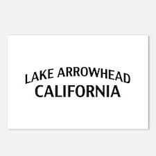 Lake Arrowhead California Postcards (Package of 8)