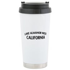 Lake Almanor West California Travel Mug