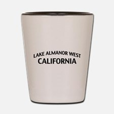 Lake Almanor West California Shot Glass