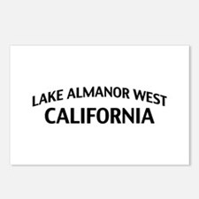Lake Almanor West California Postcards (Package of