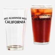 Lake Almanor West California Drinking Glass