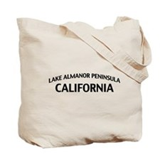 Lake Almanor Peninsula California Tote Bag