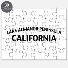 Lake Almanor Peninsula California Puzzle