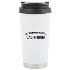Lake Almanor Peninsula California Travel Mug