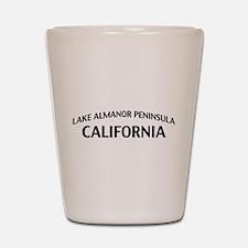 Lake Almanor Peninsula California Shot Glass