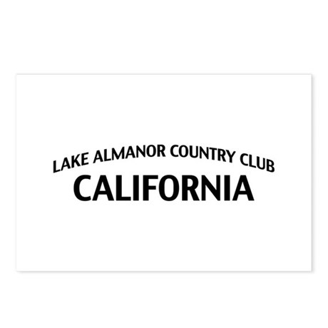 Lake Almanor Country Club California Postcards (Pa